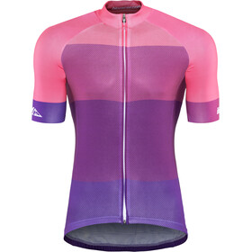 Red Cycling Products Colorblock Race Pyöräilypaita Miehet, purple-pink